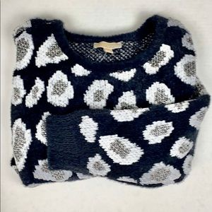 NWT Michael Kors Cheetah Animal Print Sweater XL